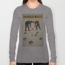 Vintage poster - Grindelwald Long Sleeve T-shirt