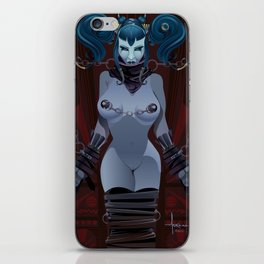 DEVIOUSLY FETTERED iPhone Skin