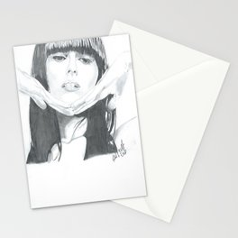 Beautiful Singer Stationery Cards