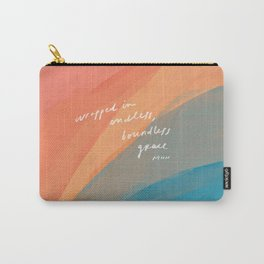 wrapped in endless, boundless grace Carry-All Pouch