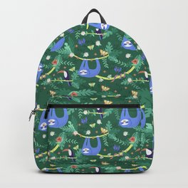 Sloth Hanging Around in the Forest Backpack