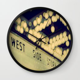 West Side Story Chicago Wall Clock