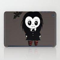 vampire iPad Cases featuring Vampire by Chrystal Elizabeth