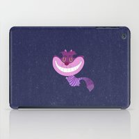 cheshire cat iPad Cases featuring Cheshire by Rod Perich