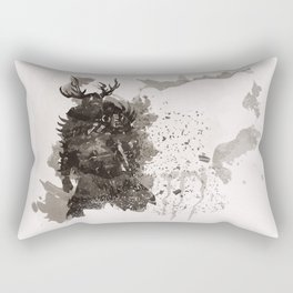 Be a Hero - Bear spirit Rectangular Pillow