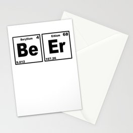 Beer Periodic Table Stationery Cards