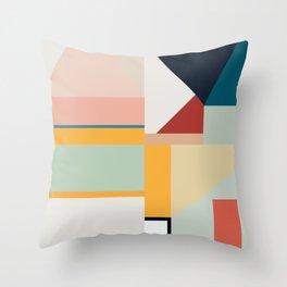 modern abstract II Throw Pillow