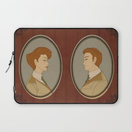 Head or Tail Laptop Sleeve