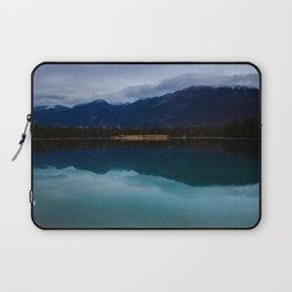 Mountain in the Mirror Laptop Sleeve