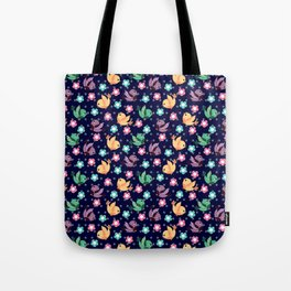 Freely Birds Flying - Fly Away Version 3 - Berry Blue Color Tote Bag