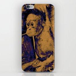 Animal ArtStudio 12516 Orang Baby iPhone Skin