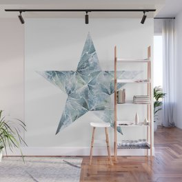 Frosted Star Wall Mural