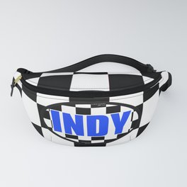 "INDY Oval ""Sticker"" Fanny Pack"