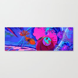 Robotic Fish Canvas Print