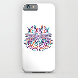 Colorful Fly iPhone Case