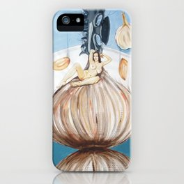 The onion maiden and her hair iPhone Case
