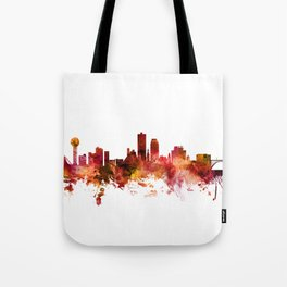 Knoxville Tennessee Skyline Tote Bag