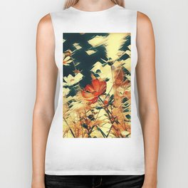 Cosmos in Abstract Biker Tank