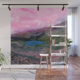 Pink Landscape and Lac Wall Mural