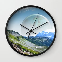 PLANETARY COMPANION Wall Clock