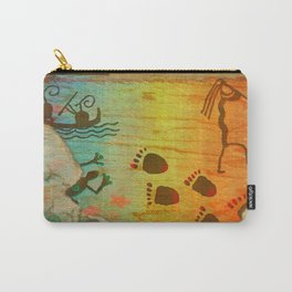 Cave Dwelling Native American Carry-All Pouch