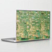bar Laptop & iPad Skins featuring Energy bar by Okti