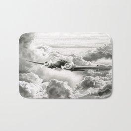 Ghost Flight- Amelia Earhart  Bath Mat