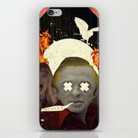 annie hall iPhone & iPod Skins featuring Annie? by Alec Goss