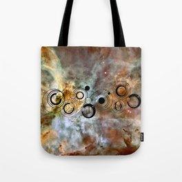 Doctor Who Geronimo Gallifrey with the Carina Nebula Tote Bag