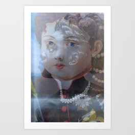 Two Worlds, Pearls Art Print