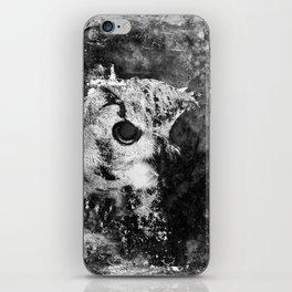 Dark Owl iPhone Skin