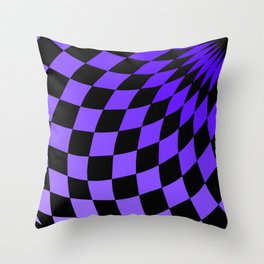 Wonderland Floor #2 Throw Pillow