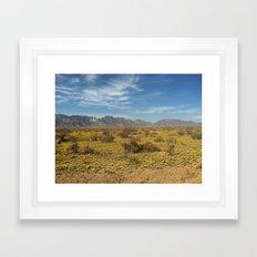 The New Mexico I know Framed Art Print