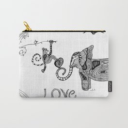 monkey love Carry-All Pouch