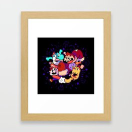 Happy Together Framed Art Print