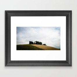 House on the Hills Framed Art Print