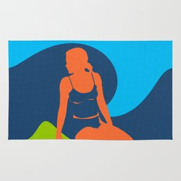 Woman Silhouettes Rug