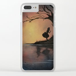 Alice's Adventures in Wonderland by Lewis Carroll Clear iPhone Case