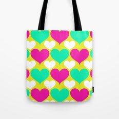 Happy hearts Tote Bag