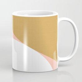 Mid Century Modern Sunset - Terracotta Peach Mustard Coffee Mug