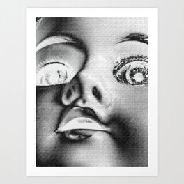 Dolly in the Attic V Art Print