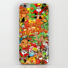 In Christmas melt into the crowd and enjoy it iPhone & iPod Skin