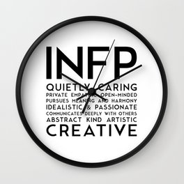 INFP Wall Clock