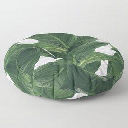 palm waves Floor Pillow