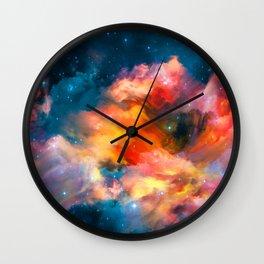 Fantastic Clouds Wall Clock