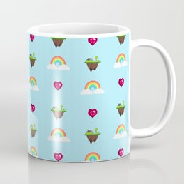 Somewhere Over The Rainbow pattern Coffee Mug