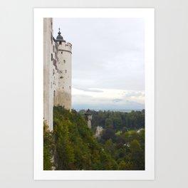 A view from Festung Hohensalzburg II Art Print