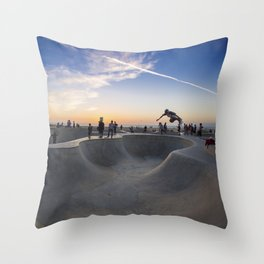 Skateboard Throw Pillow