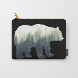 Misty Forest Bear Carry-All Pouch