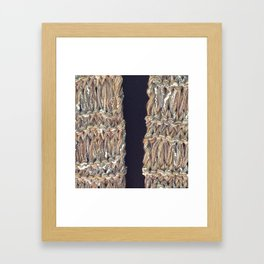 Knitter 4 Framed Art Print
